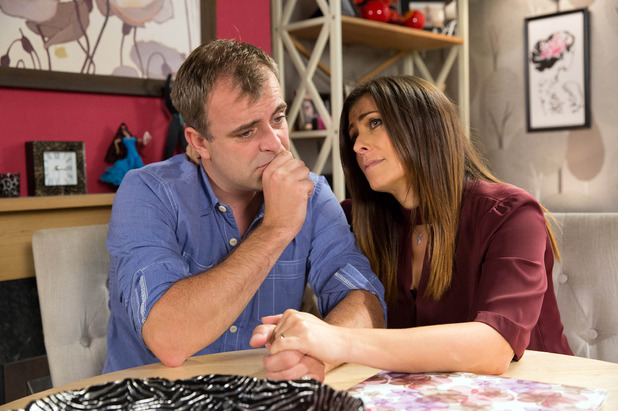 Corrie, Steve and Michelle worry about the baby, Mon 10 Oct