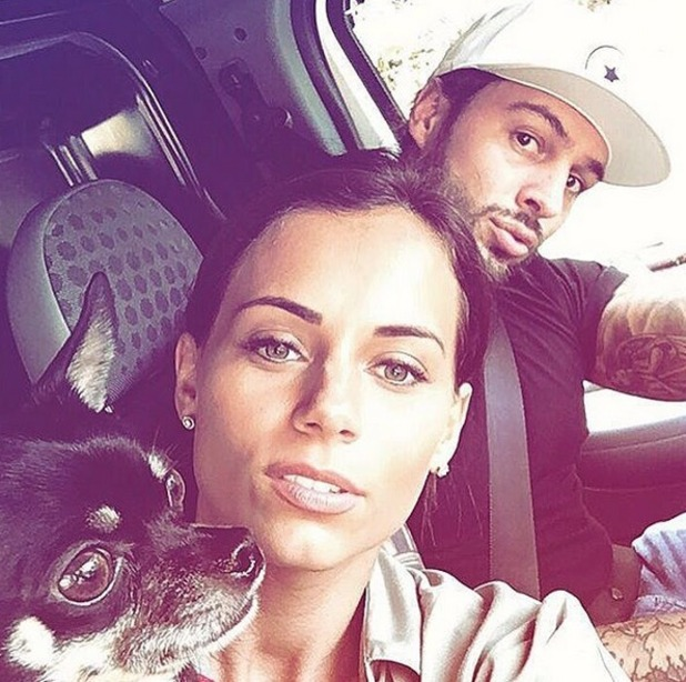 Mario Falcone and Becky Miesner announce they've moved in together 2 October
