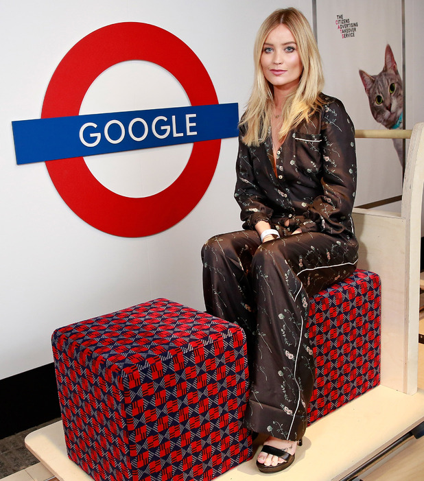 Strictly's  Laura Whitmore attends Google Nexus launch party, London, 4 October 2016