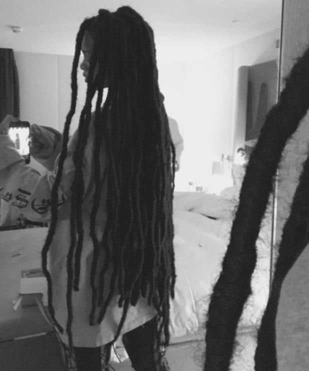 Rihanna unveils dreadlocks on Instagram, 4 October 2016