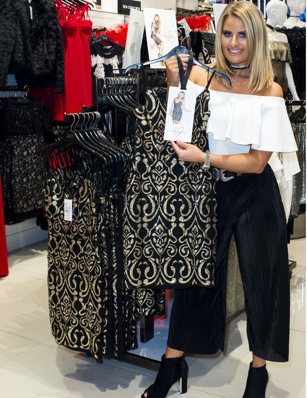 TOWIE star Danielle Armstrong launches Quiz edit into stores, 7 October 2016