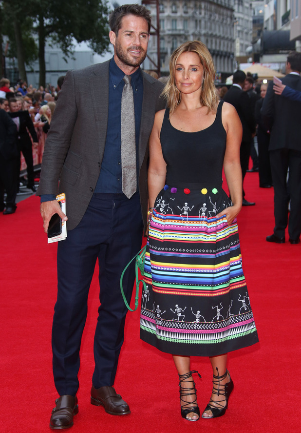 Jamie and Louise Redknapp, The Bad Education Movie premiere held at the Vue cinema, London August 2016