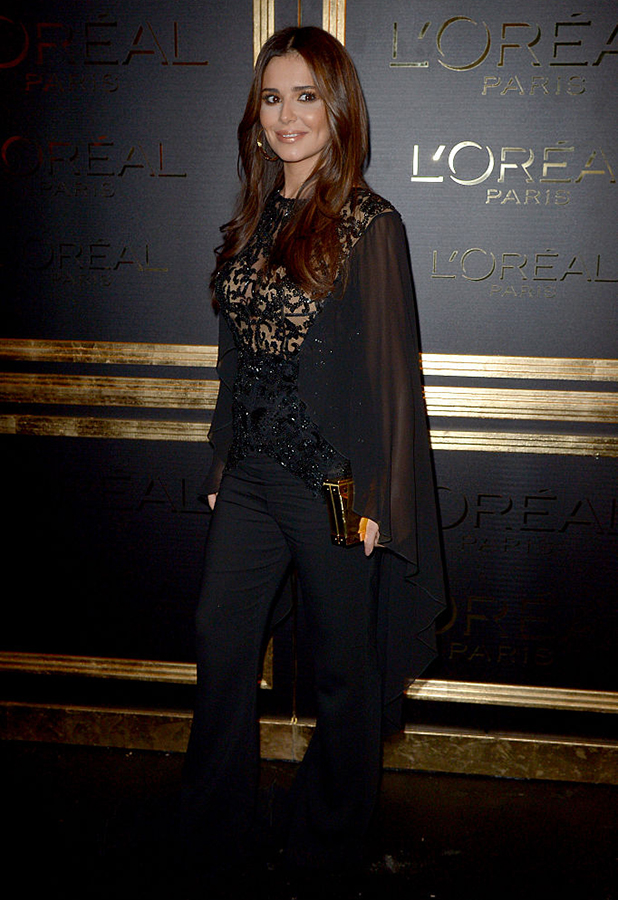 Cheryl Cole attends the Gold Obsession Party - L'Oreal Paris : Photocall as part of the Paris Fashion Week Womenswear Spring/Summer 2017 on October 2, 2016 in Paris, France. (Photo by Dominique Charriau/WireImage)