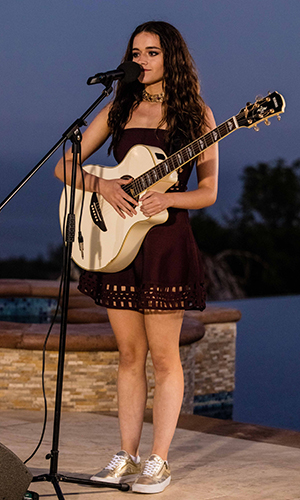 X Factor Judges Houses: Emily Middlemas performs