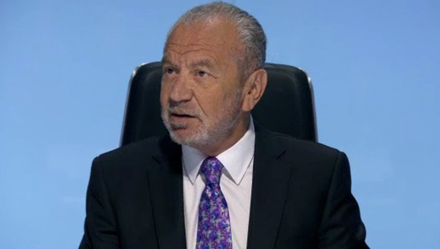 The Apprentice: Lord Sugar in episode one 6 October 2016