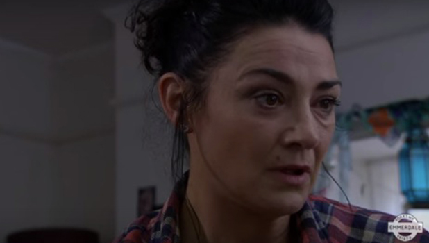 Natalie J Robb on Emmerdale 3 October 2016