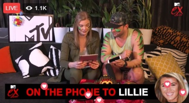 Lillie Lexie Gregg phones MTV Australia Facebook Live to talk about EOTB 12 October 2016