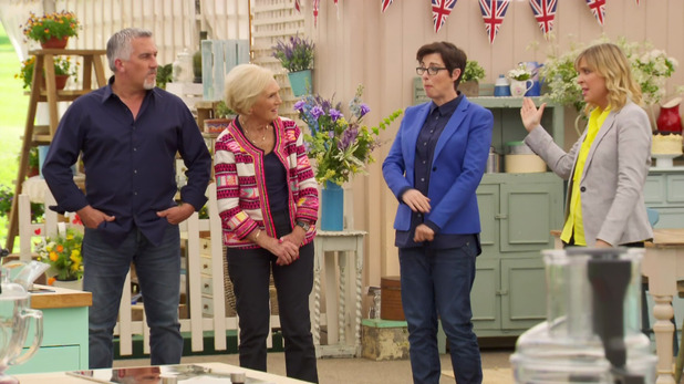The Great British Bake Off, BBC October 2016