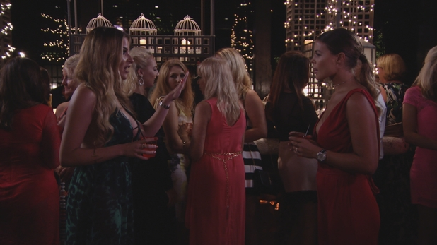 TOWIE: Georgia Kousoulou and Chloe Lewis fall out Series 19, Episode 2 12 October 2016