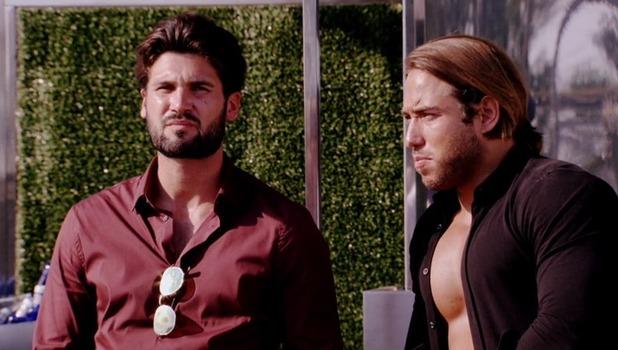 Dan Edgar and James Lock, TOWIE in Marbella 10 October