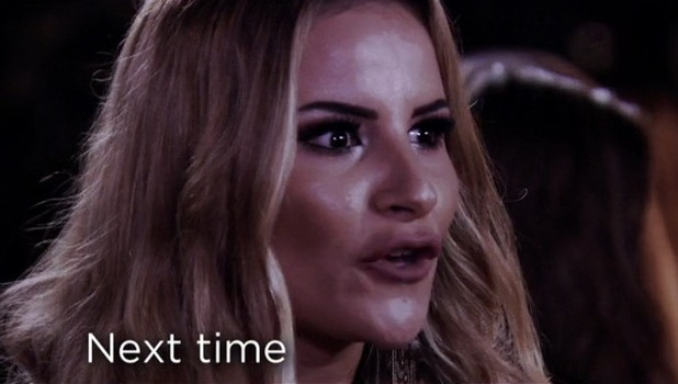 Chloe Lewis and Georgia Kousoulou fallout, TOWIE 10 October