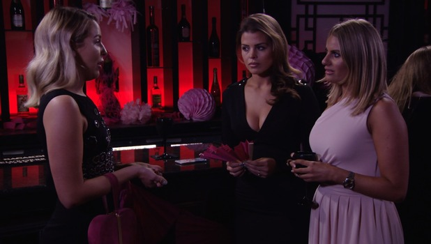 TOWIE: Lydia Bright and Danielle Armstrong clash 14 October