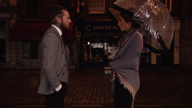 Pete Wicks and Megan McKenna, TOWIE 16 October