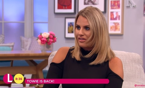 TOWIE's Danielle Armstrong on ITV's Lorraine 12 October 2016