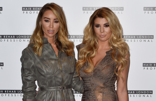 Lauren Pope and Olivia Buckland at the Hair Rehab London photocall, London, 10 October 2016