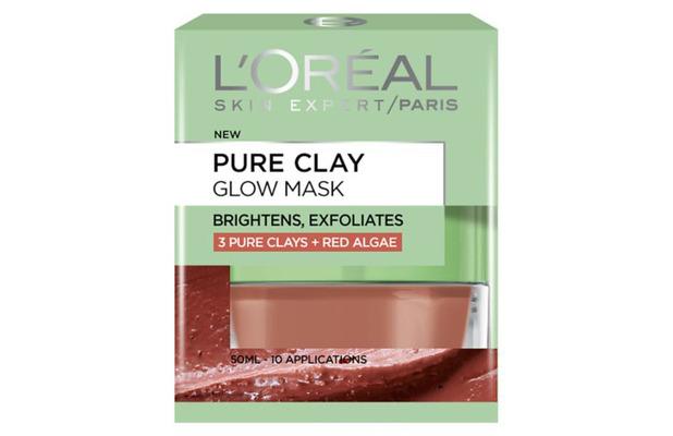 L'Oreal Paris Pure Clay Glow Mask £7.99, 10 October 2016