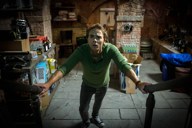 Corrie, David locked in the cellar, Mon 17 Oct