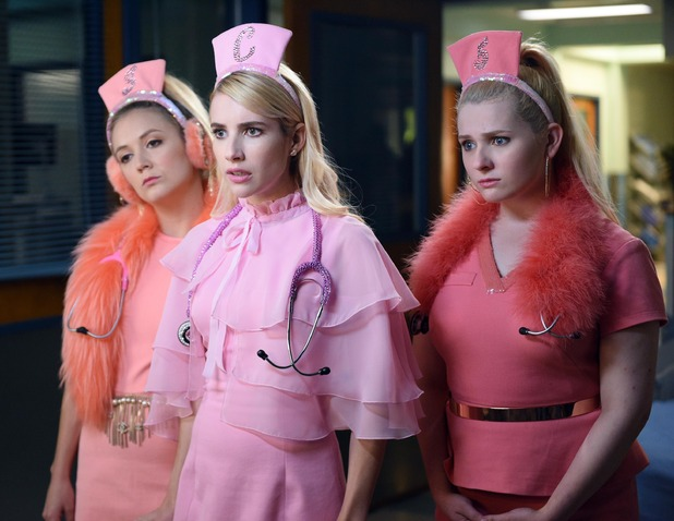 Scream Queens, The Chanels, E4, Thu 13 Oct