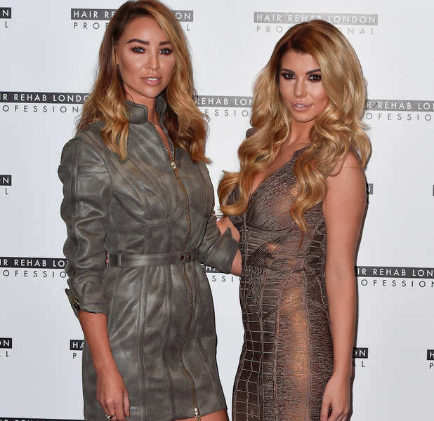 Lauren Pope and Olivia Buckland at the Hair Rehab London launch, 10 October 2016