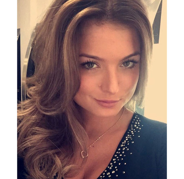 Love Island star Zara Holland dyes her blonde hair brown and shows off the results on Instagram, 14 October 2016