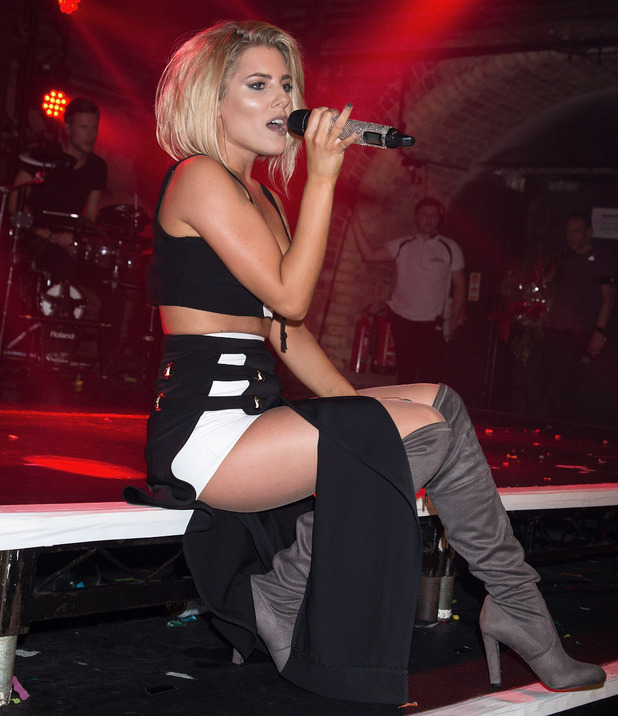Mollie King performs on stage at G-A-Y Heaven on October 8, 2016 in London, England