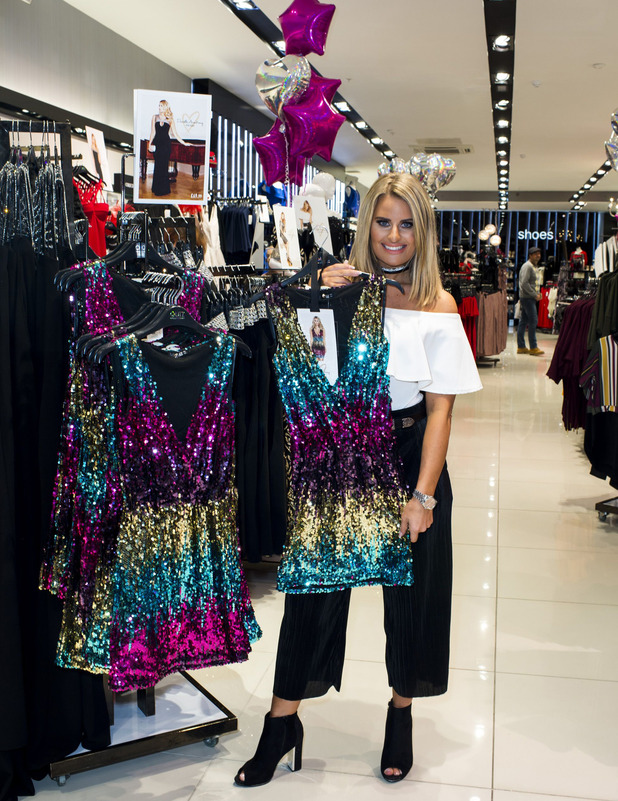 Danielle Armstrong launches Quiz edit into Lakeside store, Essex 7 October 2016