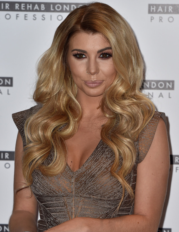 Love Island star Olivia Buckland at the Hair Rehab London Luxe Collection launch, London, 10 October 2016