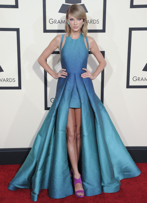Taylor Swift at the 57th Annual Grammy Awards, Los Angeles, 2 September 2016