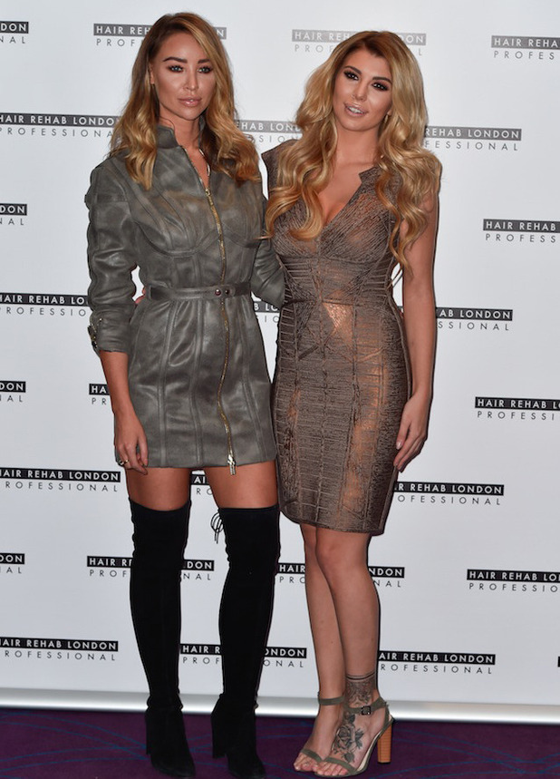 Love Island's Olivia Buckland chosen by Lauren Pope as the new face of Hair Rehab London's Luxe collection range, 10 October 2016
