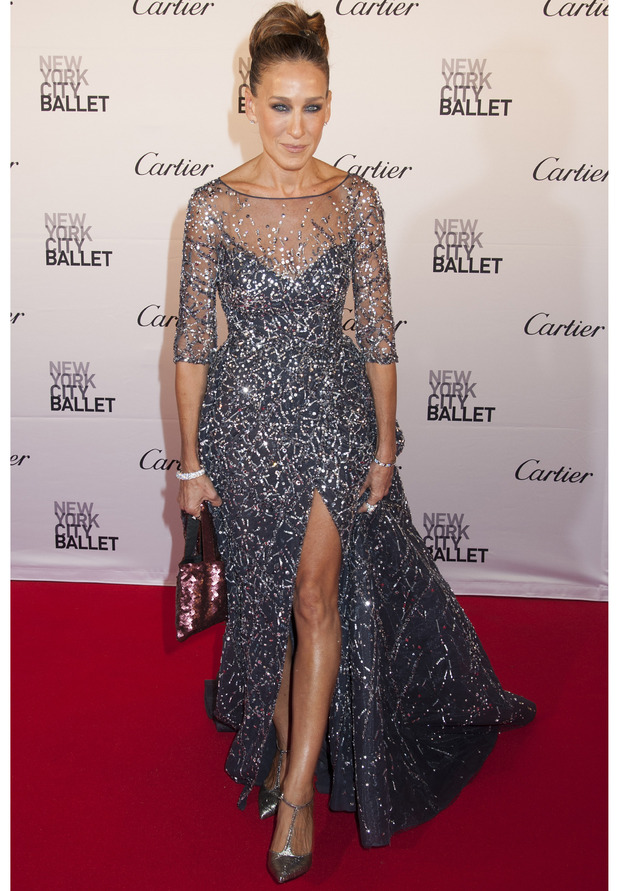 Sarah Jessica Parker on the red carpet at the New York City Ballet Gala, New York, 30 September 2015