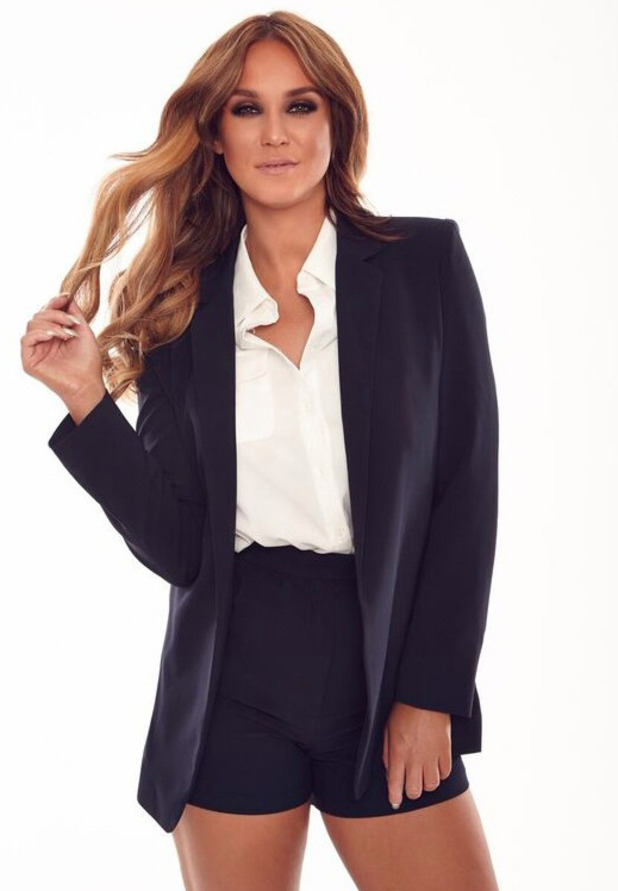 Vicky Pattison launches new Honeyz collection, Suit Set £45.99, 14 October 2016
