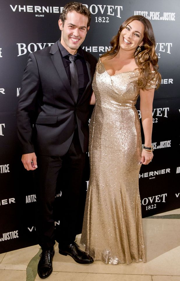 Kelly Brook sparks marriage rumours to Jeremy Parisi after wearing ring at 'Brilliant is Beautiful' Gala at Claridge's, 9/10/16
