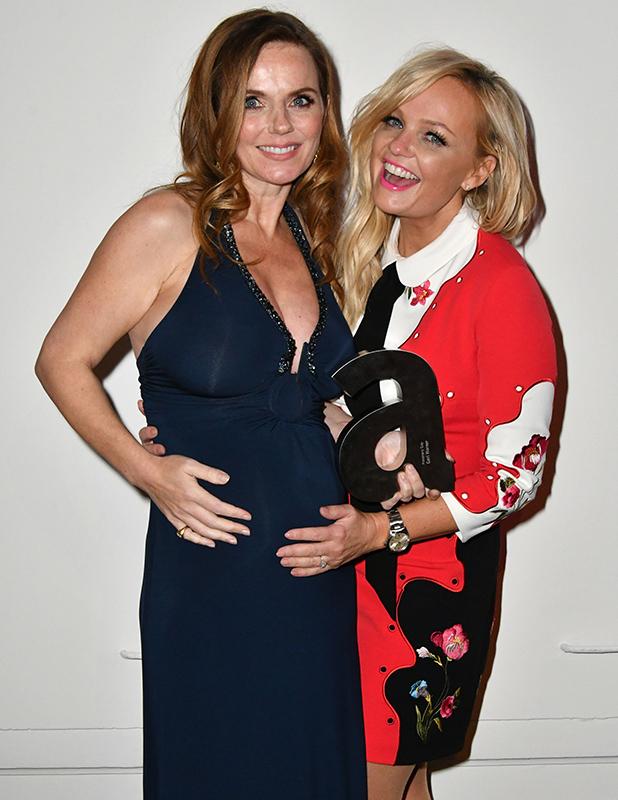 Attitude Magazine Awards, London, UK - 10 Oct 2016 Geri Halliwell and Emma Bunton