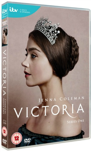 Victoria series one DVD cover