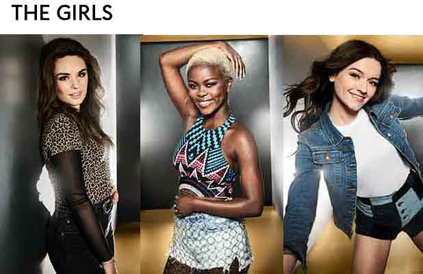 X Factor's Girls: Sam, Gifty and Emily