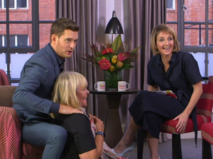 Michael Buble appeared on Loose Women and here's 7 reasons why we LOVED it