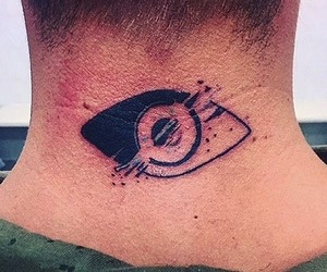 Ryan Ruckledge has Big Brother eye tattooed onto his neck 18 October