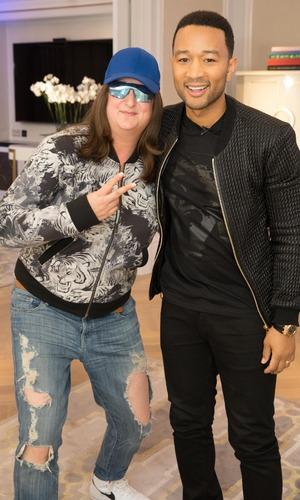 John Legend X Factor masterclass: Honey G 21 October
