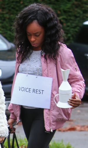 Relley C has been put on voice rest, The X Factor 19 Ocotber