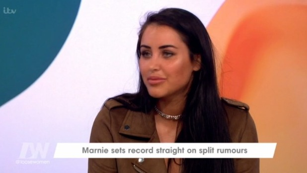 Saira Khan and Marnie Simpson awkwardly reunite on Loose Women