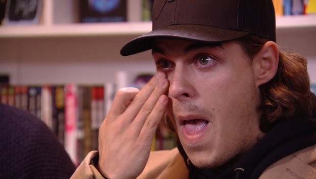 TOWIE: Chris Clark breaks down in tears over Amber Dowding 23 October