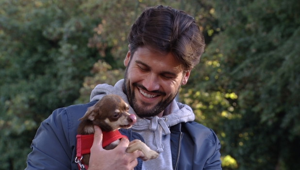 TOWIE: Kate Wright takes dog Ronnie to see Dan Edgar 23 October