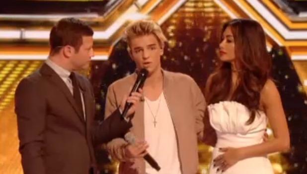 Freddy Parker, X Factor 16 October