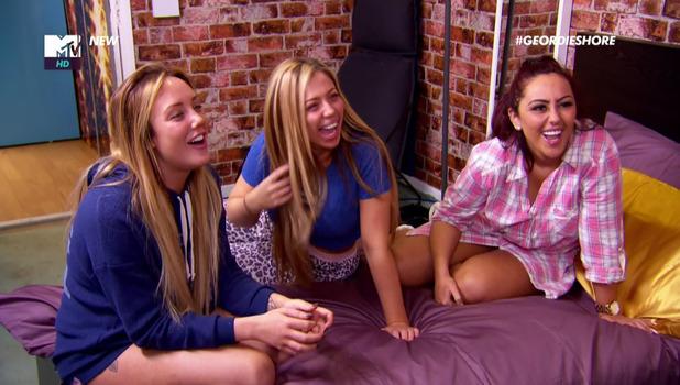 Holly Hagan, Charlotte Crosby, Sophie Kasaei on Geordie Shore: Big Birthday Battle May 2016