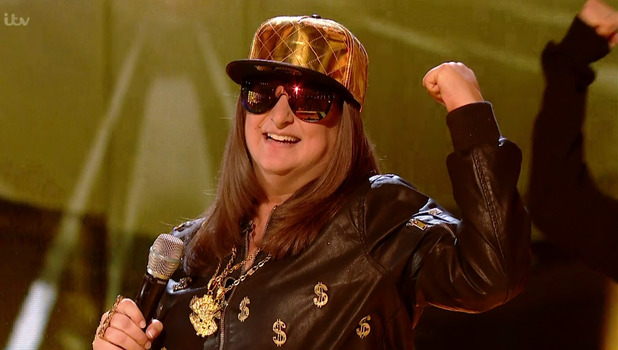 Honey G on The X Factor 15 October
