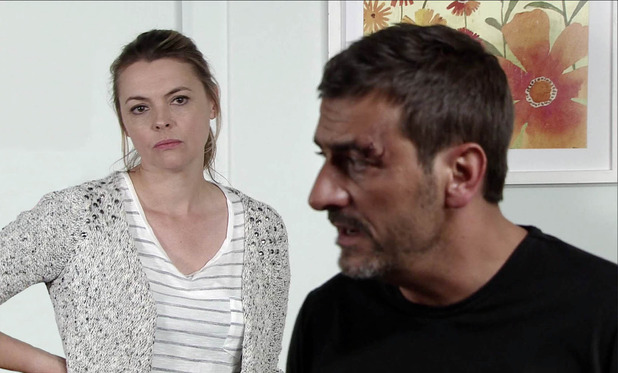 Corrie, Tracy tells Peter to leave, Fri 21 Oct