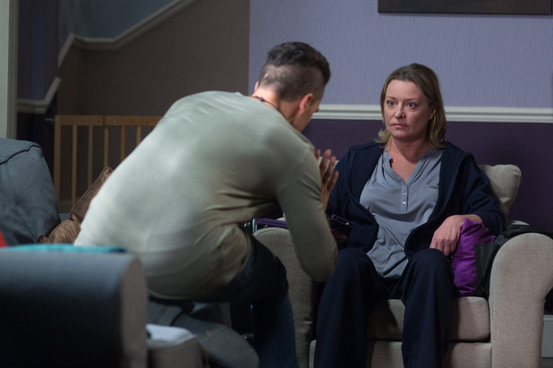 EastEnders, Jane confronts Steven, Mon 24 Oct