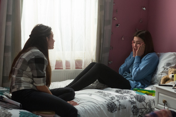 EastEnders, Bex confides in Stacey, Tue 25 Oct