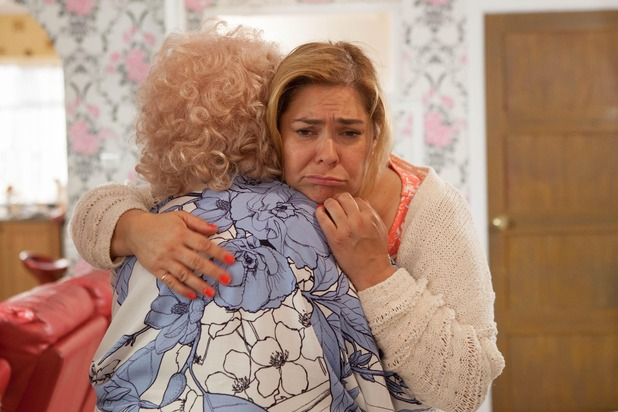 Hollyoaks, Nana McQueen returns, Mon 24 Oct