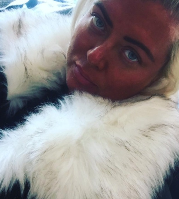 Gemma Collins reveals her too-dark tan, after sunning herself for a month, 22 October 2016